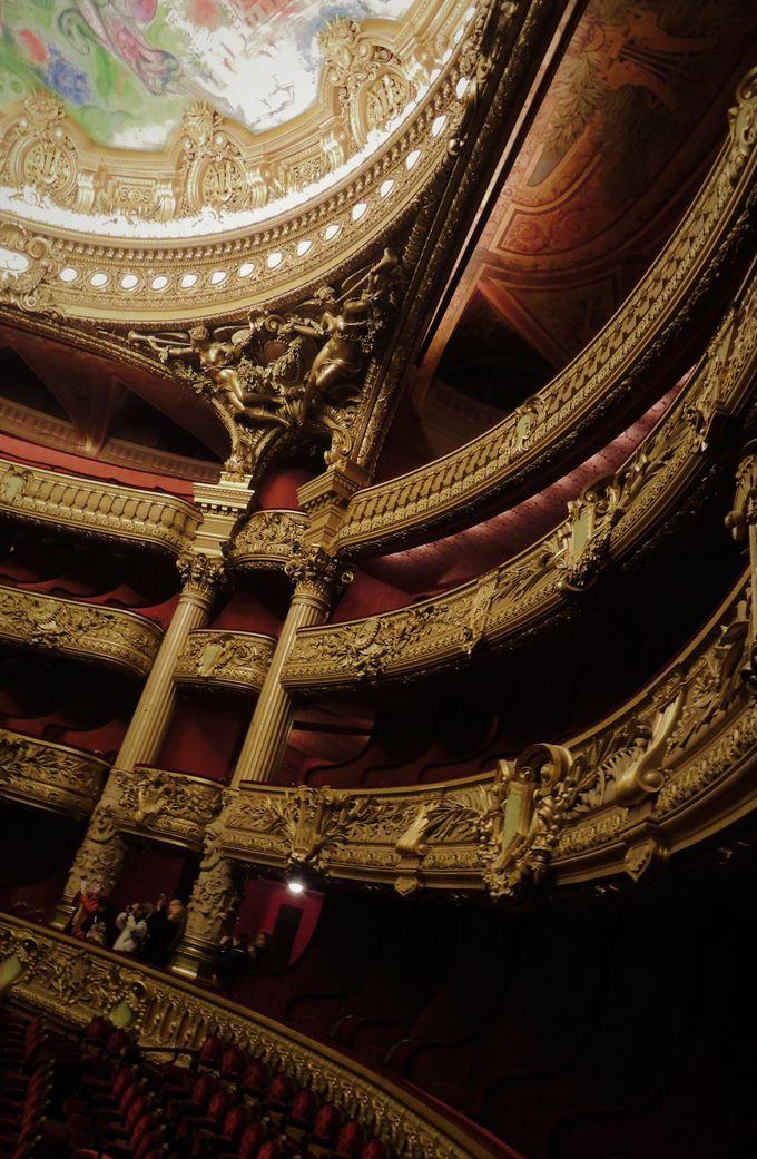 「運」必須!!パリらしいオペラ座の見学とは!?