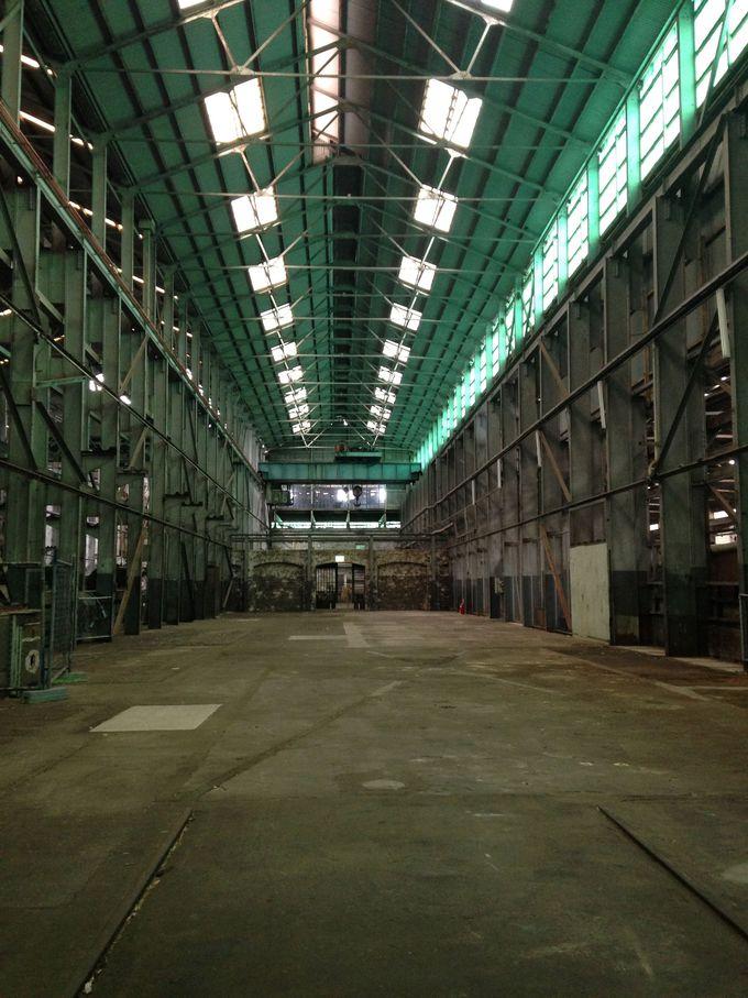 工場跡を歩いてみよう