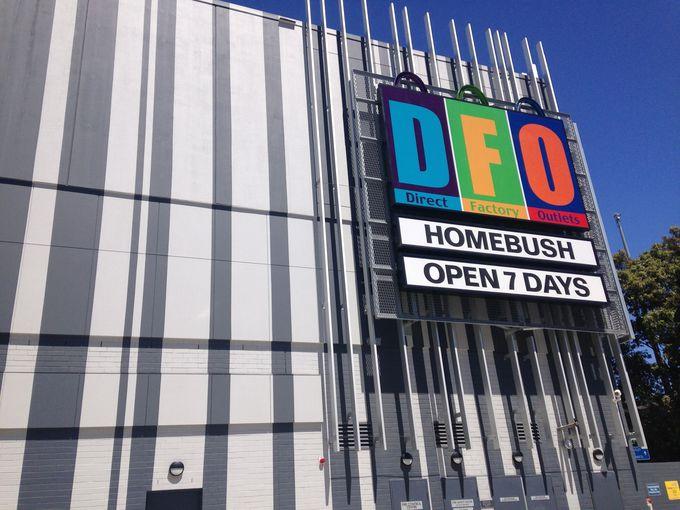 近くにはオリンピック・パークやマーケットもあり!「DFO ホームブッシュ」
