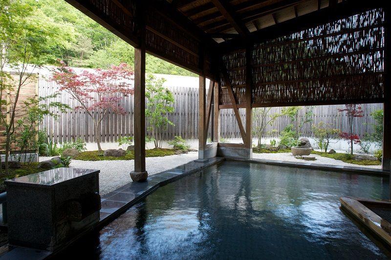 贅沢なかけ流しの湯に癒される!仙台作並温泉「かたくりの宿」