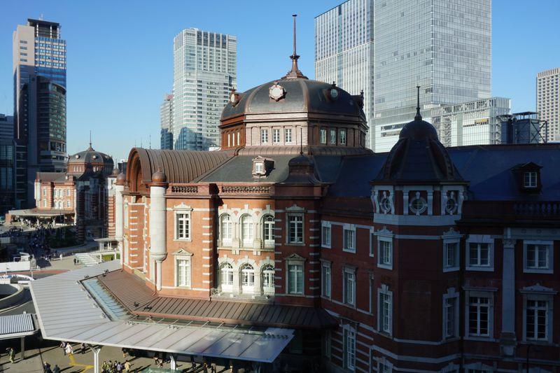赤レンガの駅舎を見渡す旧東京中央郵便局長室!歴史漂う隠れた絶景スポットを訪れよう