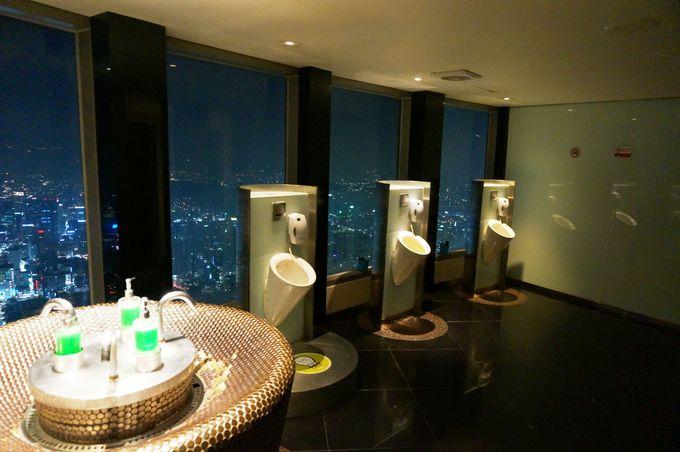 空に向かってスッキリ?!ソウル一高い場所にある、その名も「空のトイレ」