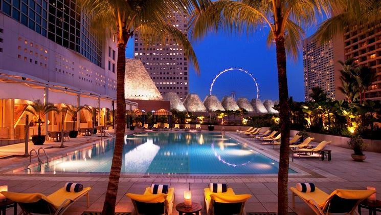 贅沢なひとときを!コンラッド・センテニアル・シンガポール
