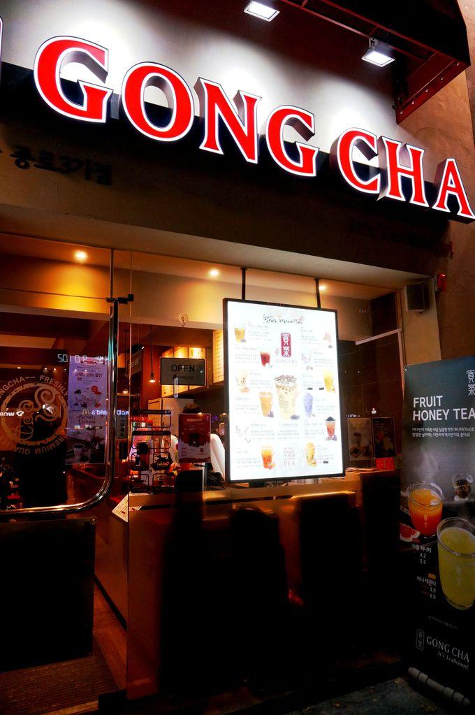 韓国だけど?!大人気!台湾発本格バブルティーが味わえる『GONGCHA』