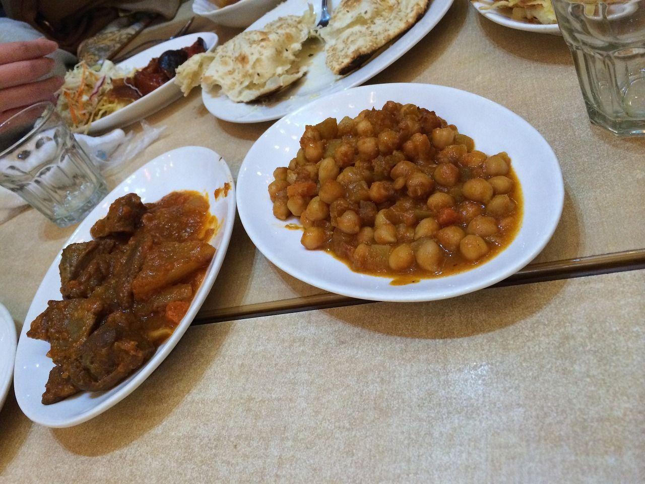 中東料理、食べ放題!