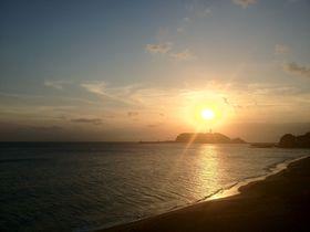 潮風に吹かれ鎌倉から江ノ島まで!湘南ジョギングスポットへ!