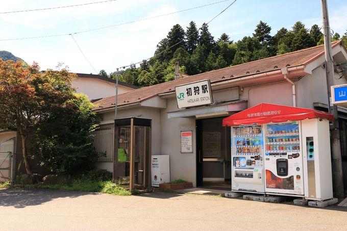山本周五郎生誕の地、JR初狩駅からスタート!初夏の駅付近にはヤマユリ増殖地も