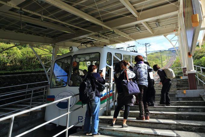 ケーブルカーで手軽に観光「十国峠」から富士山大展望