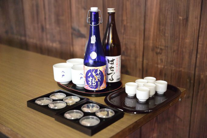 多種の酒米で手作りの酒造りを継承