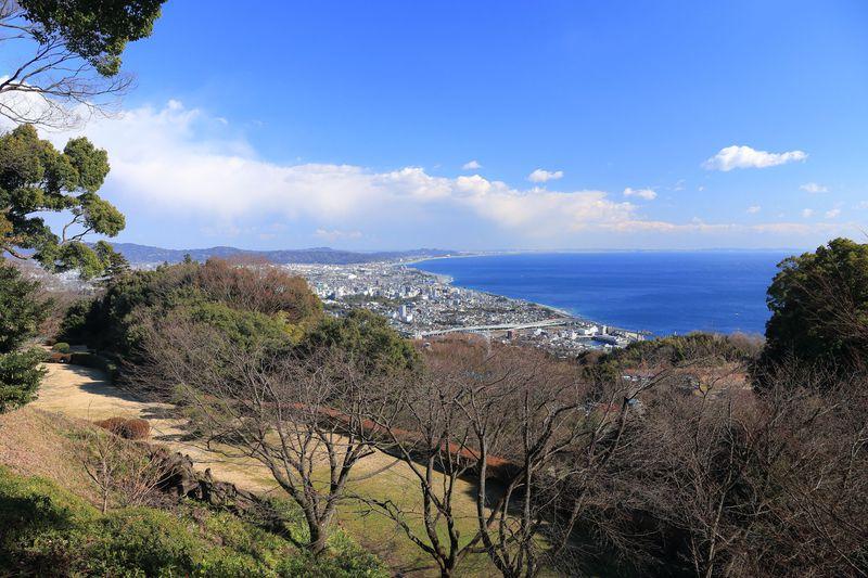 秀吉の見た小田原城が眼下に!一夜城歴史公園で戦国時代を夢想する