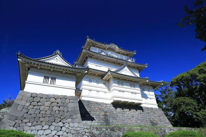 全国でも第七位の高さを誇る小田原城天守閣!望楼からは圧巻の景色が