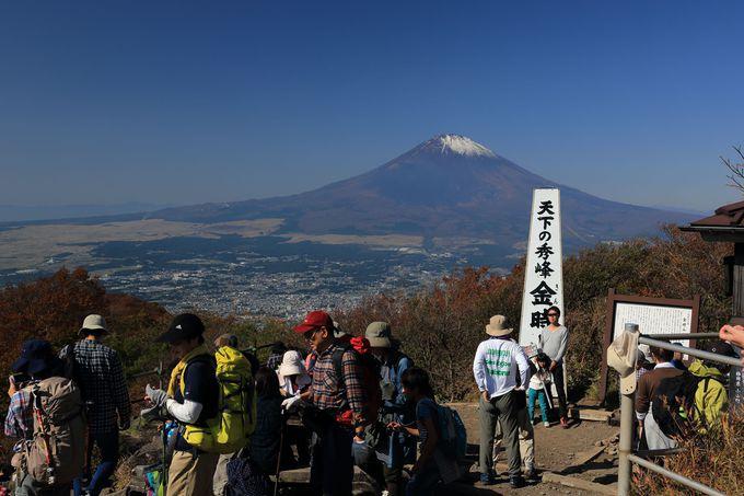 山頂は富士山の絶景ポイント