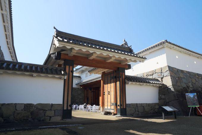 甲府城の城郭跡「舞鶴城公園」、大手門が再建された「甲府市歴史公園」を巡る