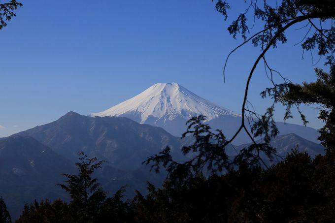 桃太郎伝説が語られる九鬼山!天狗岩に立ち寄って、素晴らしい富士山を満喫する