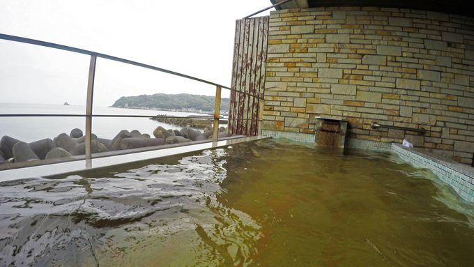 「ホテルパウエル伊東」は、露天風呂の前に太平洋が!さりとて・・