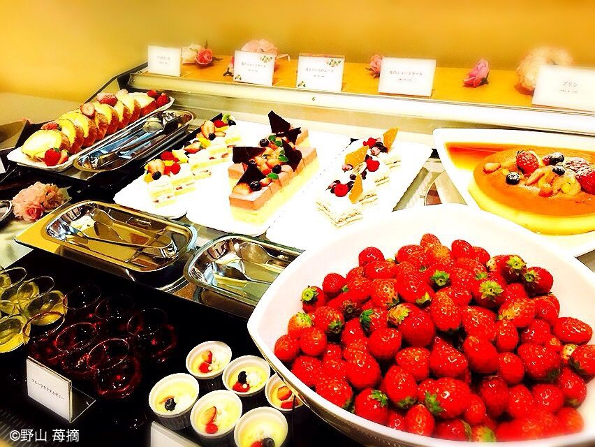 浦和ロイヤルパインズホテルで苺食べ放題!いちごスイーツとオシャレなパンに大興奮!