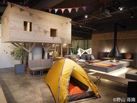 お風呂×グランピング!熊谷・おふろカフェビバークでオトナの秘密基地体験!|埼玉県|トラベルjp<たびねす>