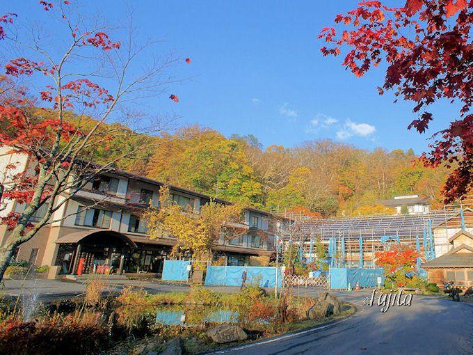 蔦温泉・蔦温泉旅館の本館は、2015年にリニューアル完成!