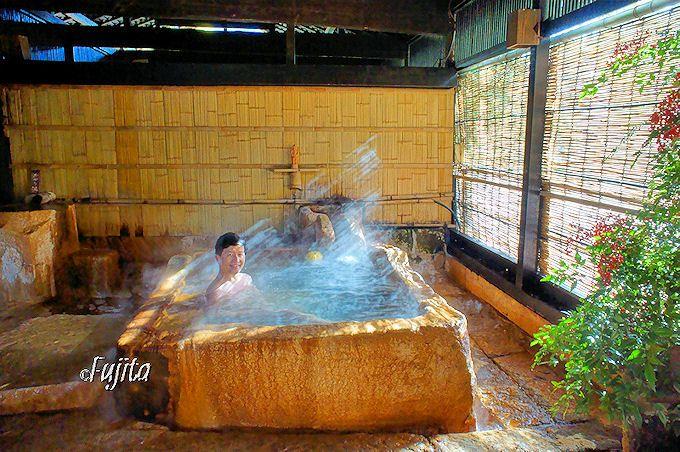 忘れの里 雅叙苑の大浴場「建湯」は気分最高!