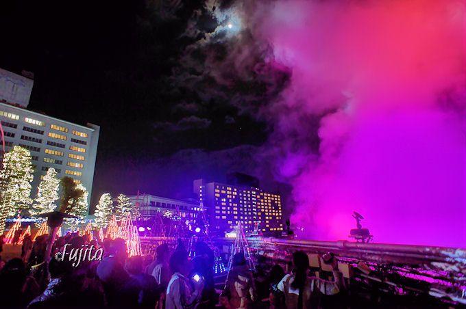 杉乃井ホテル「地獄のイルミネーション」は期間限定