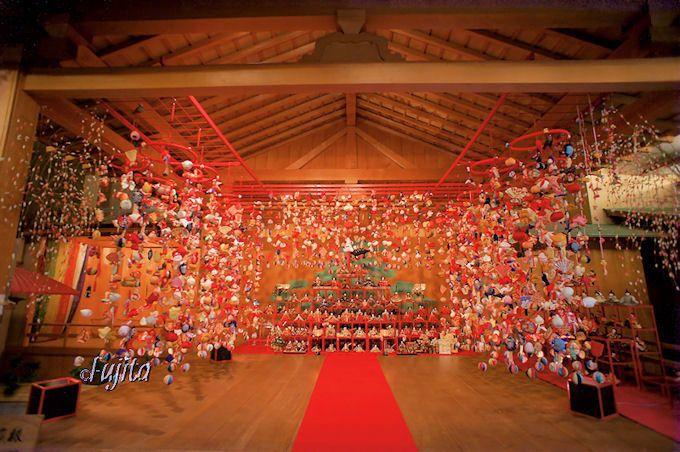 昼神温泉「石苔亭いしだ」の二千体雛飾り