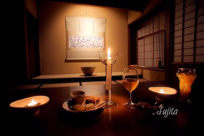有栖川山荘は「あらや滔々庵」の密かな楽しみ