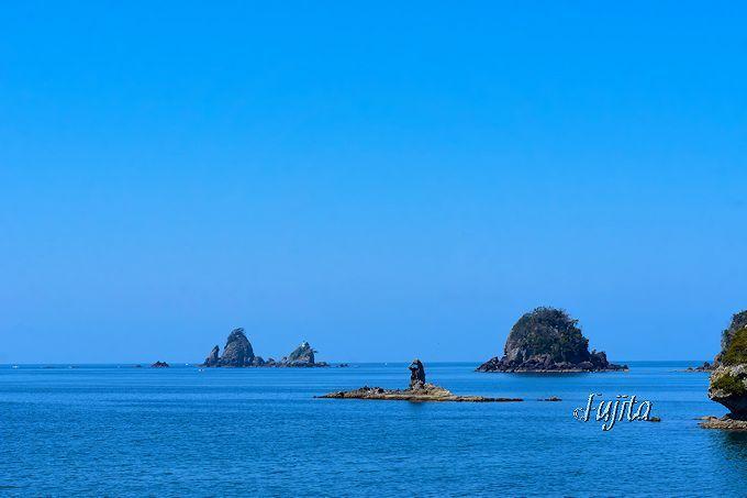「日本の夕陽百選」大田子海岸で写真撮影するなら、日没前の下見が肝心!