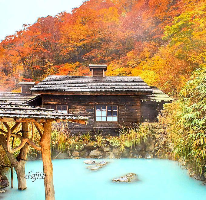 乳頭温泉郷の紅葉露天風呂ベスト4!日本一有名な秘湯で紅葉狩り