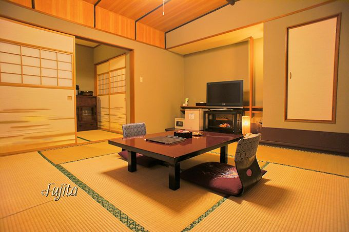 旅館部別館客室は、あまりの美しさに度肝を抜かれる!