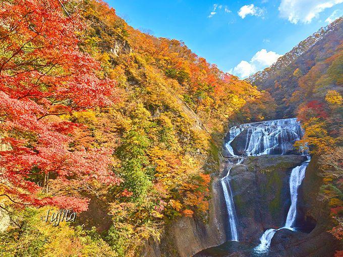 県民の日は紅葉狩り!茨城の紅葉名所・袋田の滝と花貫渓谷