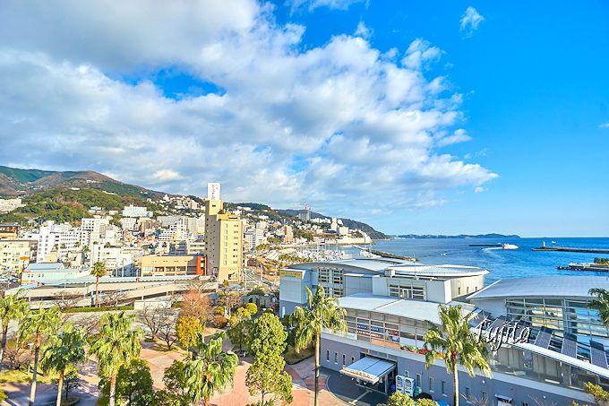 熱海温泉ホテルサンミ倶楽部は、熱海港一望の眺望が素晴らしい!