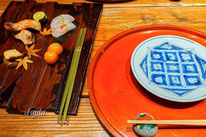 本当に美味しい物を少しづつ、妙見石原荘「レストラン石藏」