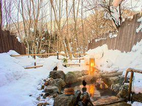 雪見の貸切露天風呂!平湯温泉「匠の宿 深山桜庵」で冬の奥飛騨を満喫|岐阜県|トラベルjp<たびねす>