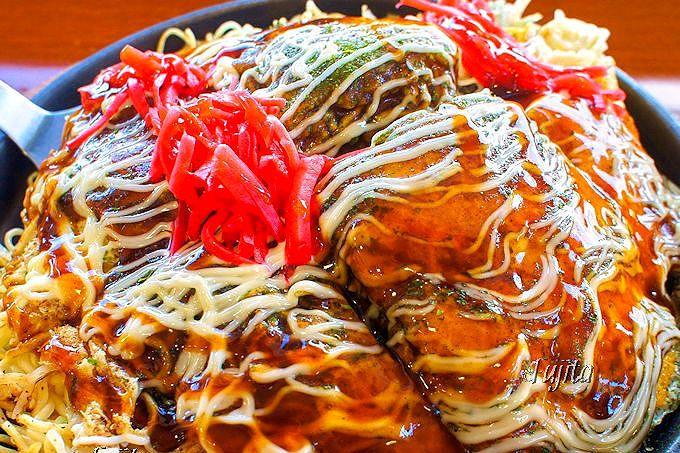 味の決め手は細麺にあり!広島・沼田PAの絶品「お好み焼き」
