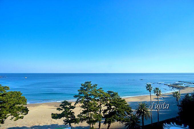 伊豆今井浜 東急ホテルの上層階は、海一望の絶景です!