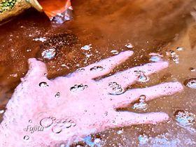 日本一の炭酸泉!竹田市・七里田温泉下湯は、泡付き激しいラムネの湯