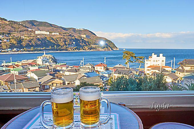 赤尾ホテル海諷廊の湯上がりは、生ビール一杯サービス!