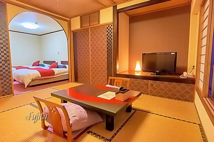赤尾ホテル海諷廊の客室は、和洋室がおすすめ!
