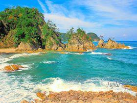 浦富海岸の絶景ベスト5!山陰海岸ジオパーク・鳥取県の必見ジオサイト|鳥取県|トラベルjp<たびねす>