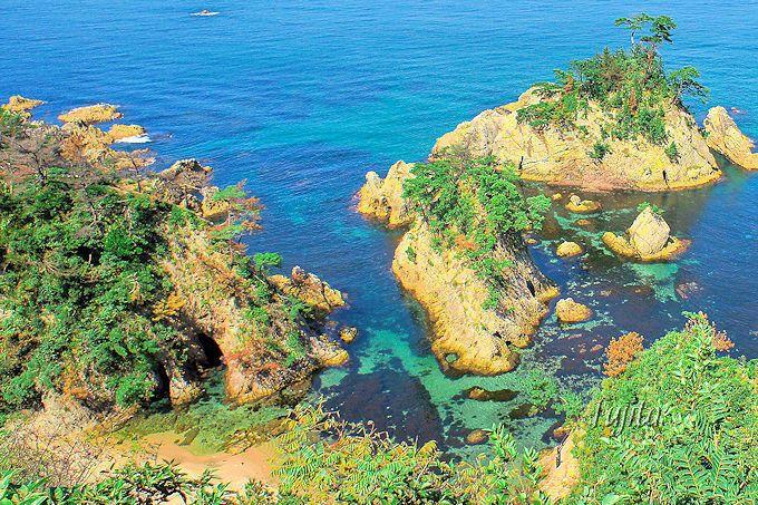 鳥取の絶景海岸!日本で4番目の世界ジオパーク「浦富海岸」