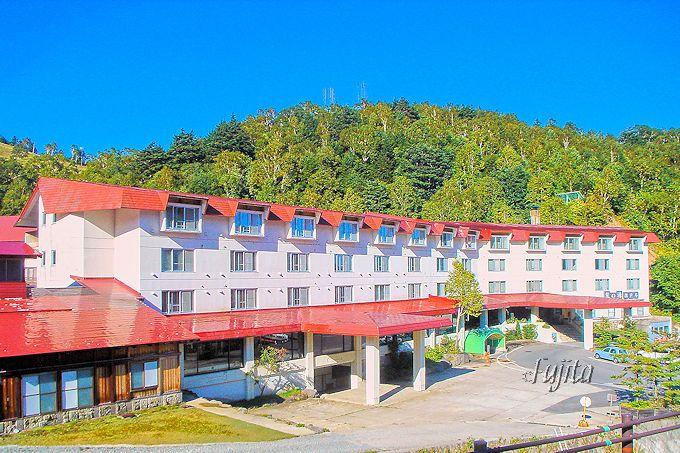 熊の湯温泉熊の湯ホテルは、近代的なホテル!