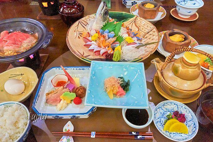 観海寺温泉松葉屋では、大分特産の関サバや関アジがおすすめ!