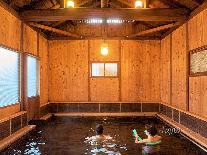 天城流湯治法の浴場「たち湯」は、貸切風呂としても利用可能!