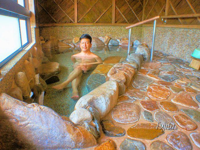 出雲湯村温泉「湯乃上館」は貸切家族風呂も無料