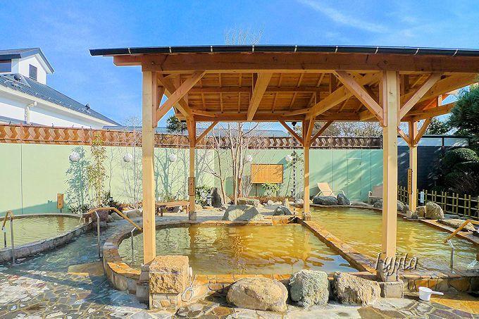 緑豊かな周辺環境が魅力的!見沼天然温泉「小春日和」