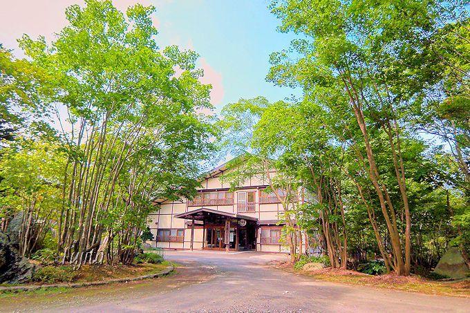 軽井沢を思わせる上品な風情!上の湯温泉「銀婚湯」