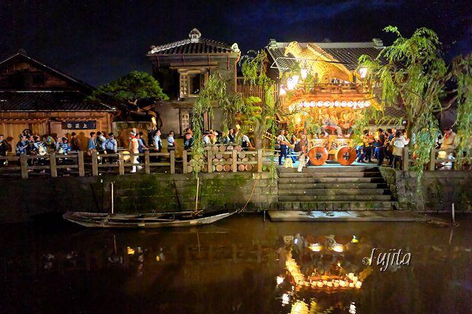 「佐原の大祭」は夕方から夜がおすすめ!