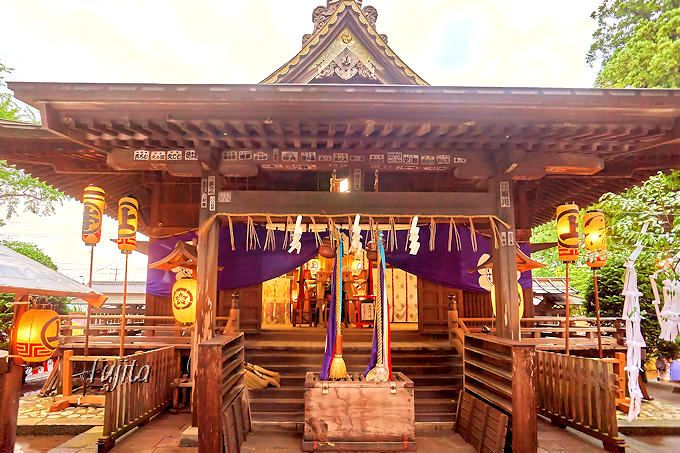 「佐原の大祭」夏祭りは八坂神社、秋祭りは諏訪神社へ