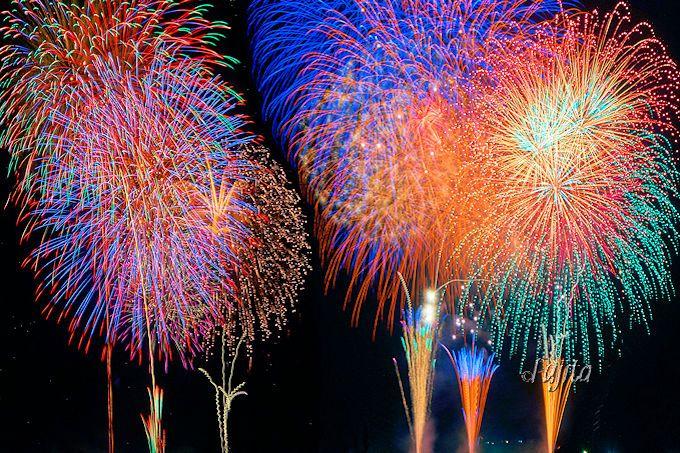 3種類の二尺玉を4発打ち上げ!佐倉市民花火大会は「ビッグプレミアムスターマイン」も凄い