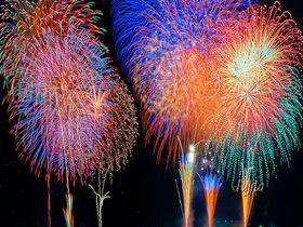 3種類の二尺玉を4発打ち上げ!佐倉市民花火大会は「ビッグプレミアムスターマイン」も凄い|千葉県|トラベルjp<たびねす>
